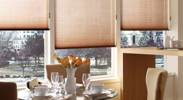 Cellular Light Filtering Shades